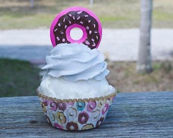 Donut Cupcake (fake)