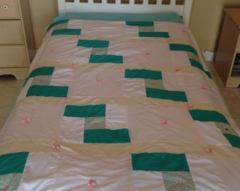 Twin girl's quilt