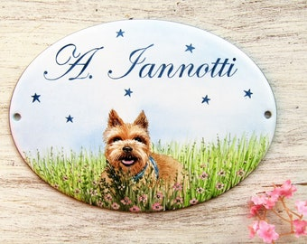 Custom Pet Sign, Custom Pet Portrait, Pet Name Sign, Animal Portrait, Dog House Sign, Personalized Dog Sign, Dog Lover Gift, Dog Lovers Sign