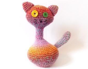 Susan the Cat PDF Crochet Pattern