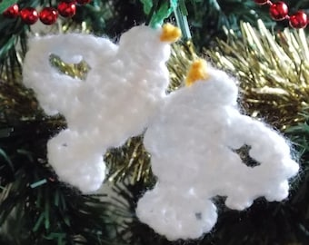 12 Days of Christmas Decorations PDF Crochet Pattern