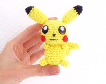 Pikachu PDF Crochet Pattern