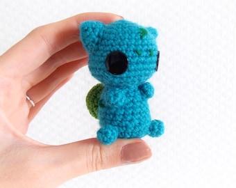 Bulbasaur PDF Crochet Pattern
