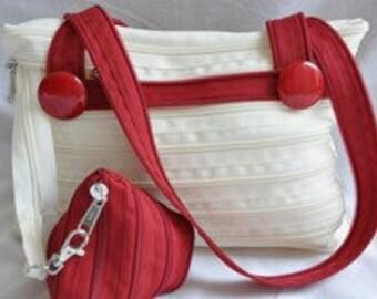 Fully zipper bag