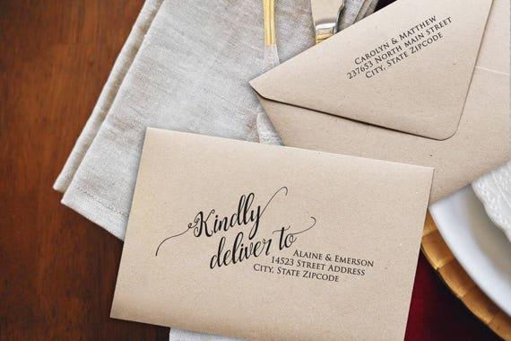 Printing Wedding Invitation Envelopes At Home: Wedding Envelopes DIY Wedding Envelope Addressing Template