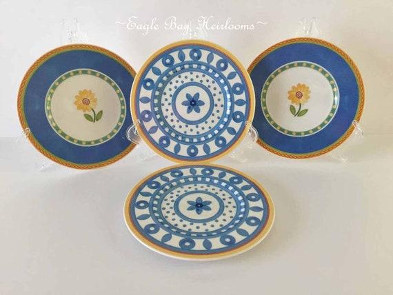 "Villeroy /& Boch 1748 Twist Clea Bread /& Butter Plate Germany /""Easy Collection/"""