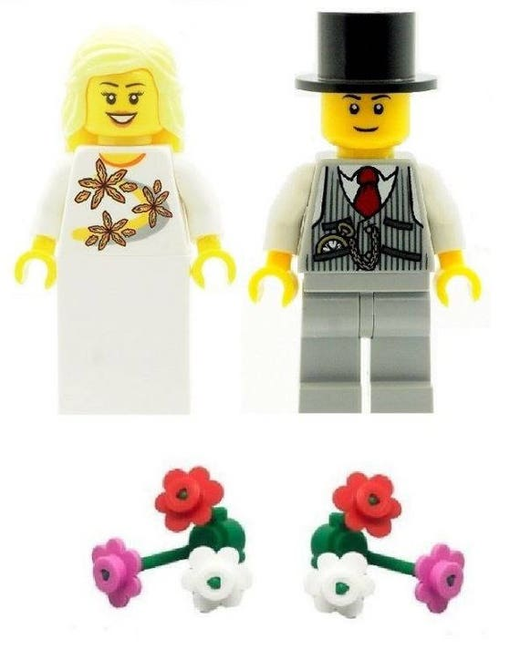 Scottish Groom Best Man Custom Designed Minifigure Printed on LEGO Parts
