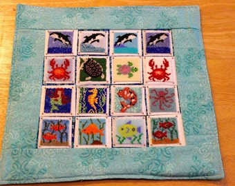 Bead-It-Forward Animal Themed Quilt Under the Sea BIF111