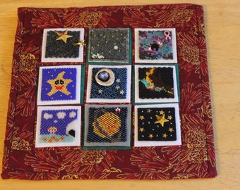 Bead-It-Forward Space Themed Quilt BIF14