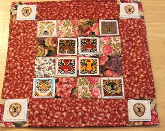 Bead-It-Forward Animal Themed Quilt Feline Frenzy BIF103
