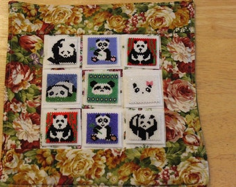 Bead-It-Forward Animal Themed Quilt Pandas BIF112