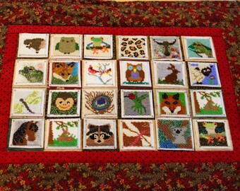 Bead-It-Forward Animal Theme Quilt - Multi BIF101