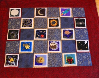 Bead-it-Forward Space Themed Quilt BIF19