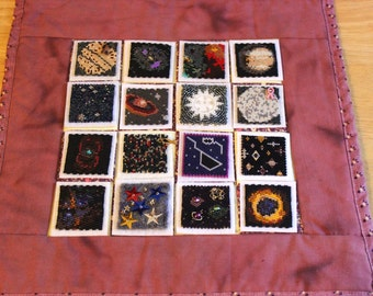 Bead-It-Forward Space Themed Quilt BIF16