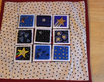 Bead-it-Forward Space Themed Quilt Stars BIF13