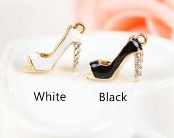 0832c0572e 3pcs High Heel Shoes Charm