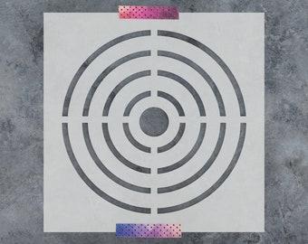 bullseye template etsy