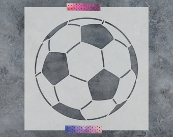 GOAL Football Soccer Stencil Reusable PP Sheet for Arts /& Crafts DIY