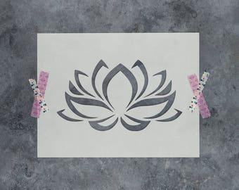 "2 x Rose flower Wall art decal stencils  pick 3/"" 8/"" gift 350 mcg mylar England"