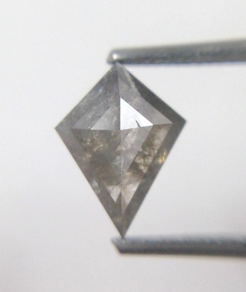 0.88 Ct Natural Diamond Shape Grey Color Diamond A306