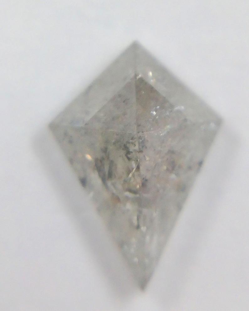 0.77 Ct Natural Loose Salt And Pepper kite Shape Diamond A438