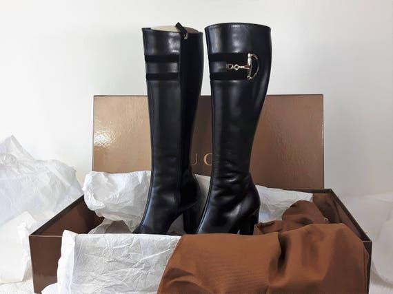 Gucci, Boots.