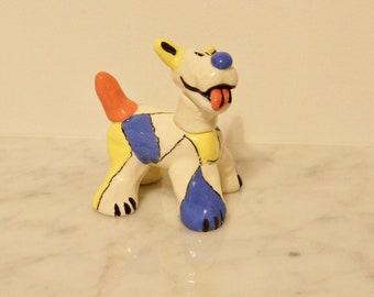 Garden Clay Dog-Claude!