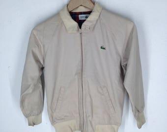 bb57c885a4 80s Lacoste Jacket - Lacoste - Vintage Lacoste Jacket - 80s jacket - Lacoste  Windbreaker - Vintage Lacoste Jacket