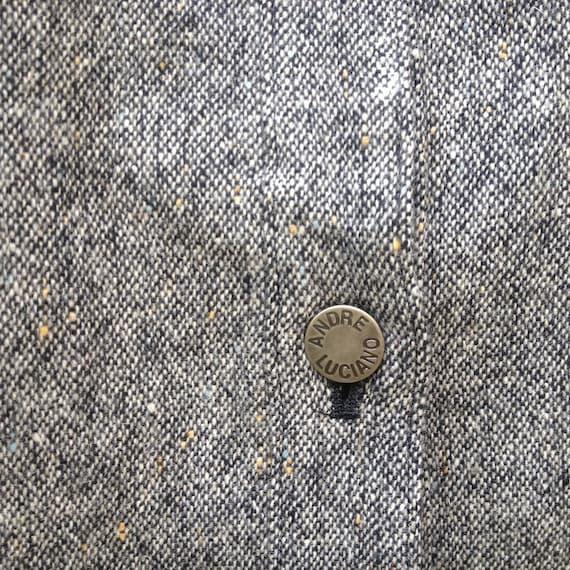 ANDRE LUCIANO veste bouton taille L Rare Maison Martin Margiela Thom Raf Simons Thom Margiela Browne Yohji Yamamoto Issey Miyake Kansai 6a26b3