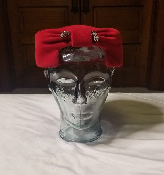 Vintage 1960s red Reproduction of Hubert De Givenc