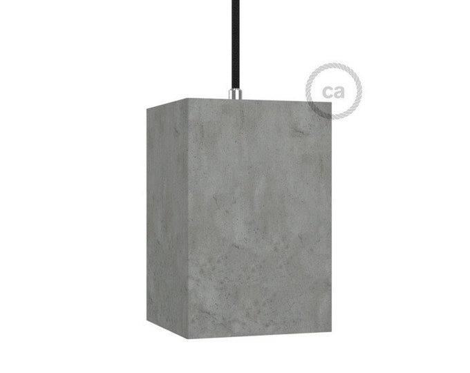 "Pendant light, room lamp, ""Concrete pendant"", Restaurant lighting, Bar lighting, minimalist Lamp, Loft,"