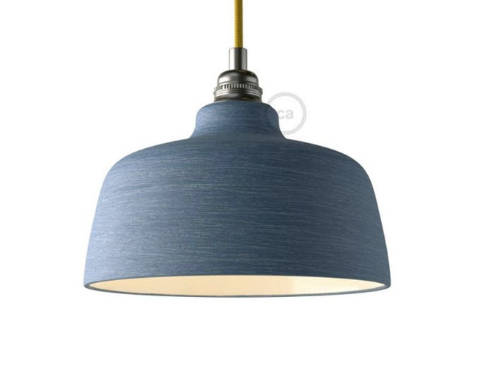Pendant Lamp, Ceramic Pendant, Ceramic Lampshade, Restaurant Lighting, Bar Lighting, Minimalist Lamp, Loft,