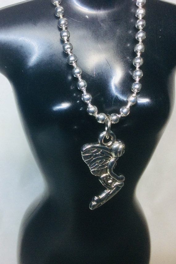 """11"""" 12"""" Doll Jewelry Accessories HH02 Silver Large Link Chain Necklace Fits Ken"""