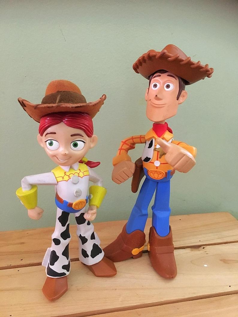47d212be3a39c Vintage muñecos de Woody y Jesse muñecas Toy Story Toy Story