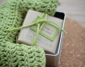 Soap Tin Gift | Reusable Soap Tin for Traveling, Soap Storage | Add a Soap and  Handmade Facecloth for a Brilliant Gift!
