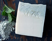 SWEET MINT - Certified 100% Natural Pure Vegan Handmade Soap (Cold Process)   Bean and Boy Soap   Palm-Free