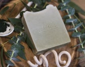 Eucalyptus & Spirulina Soap  | Certified 100% Natural Vegan Handmade Soap (Cold Process) | Gentle Soap | Bean and Boy Soap