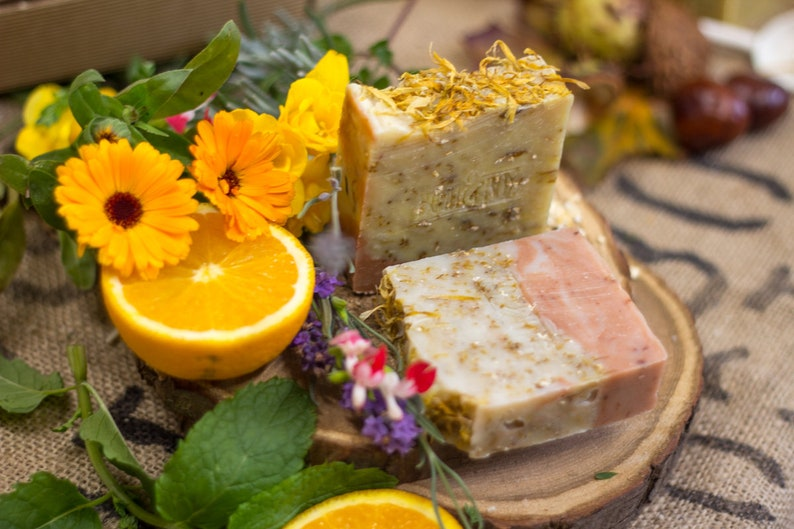 Wildflowers & Oats Soap  Safety Assessed and Certified 100% image 0