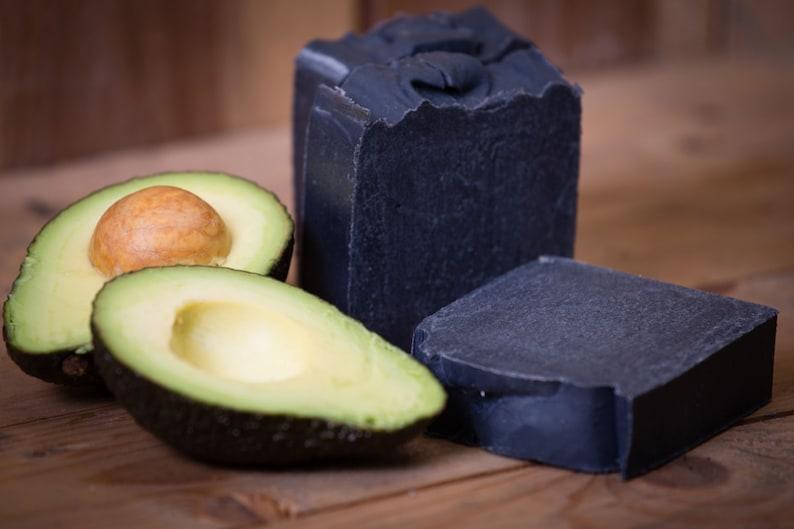 Charcoal Soap  Certified 100% Natural Pure Vegan Handmade image 0
