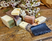 Lucky Dip Bag of Handmade Soap Offcuts | Sample Sale | Seconds Sale | Certified 100% Natural Vegan Handmade Soap | Bean and Boy Soaps