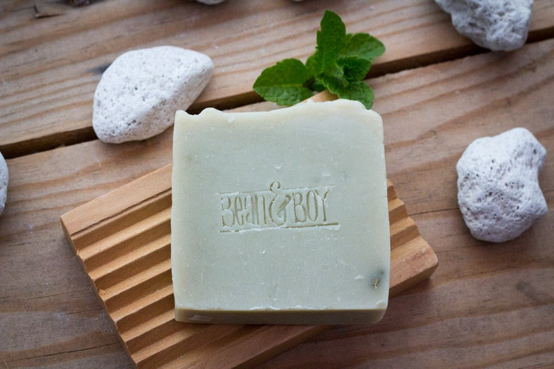 Pumice & Patchouli Soap  Certified 100% Natural Pure Vegan image 0