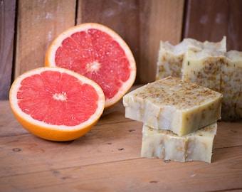 Grapefruit & Calendula Soap - Certified 100% Natural Pure Vegan Handmade Soap (Cold Process)