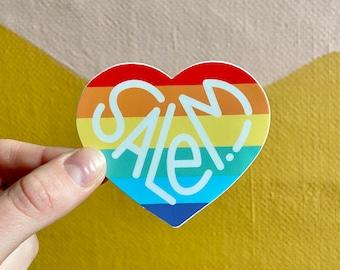 """Salem! Pride Sticker - 3"""""""