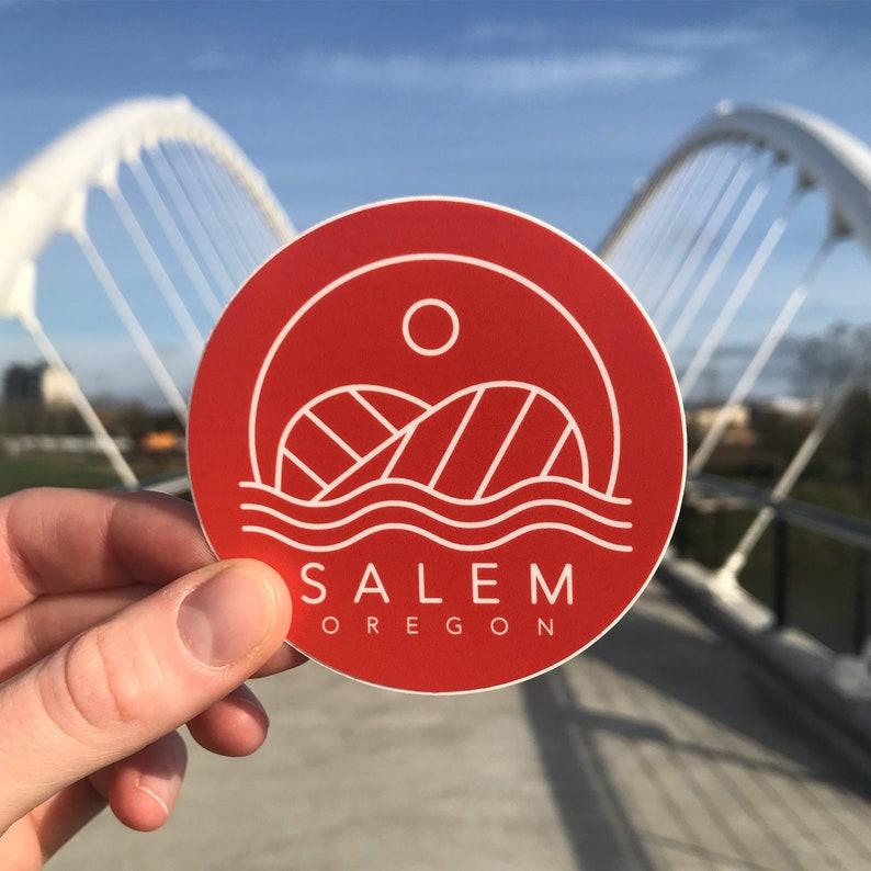 Salem Taco Bridge Sticker  3 image 0