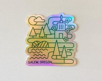 """Salem Lines Metallic - 3"""""""