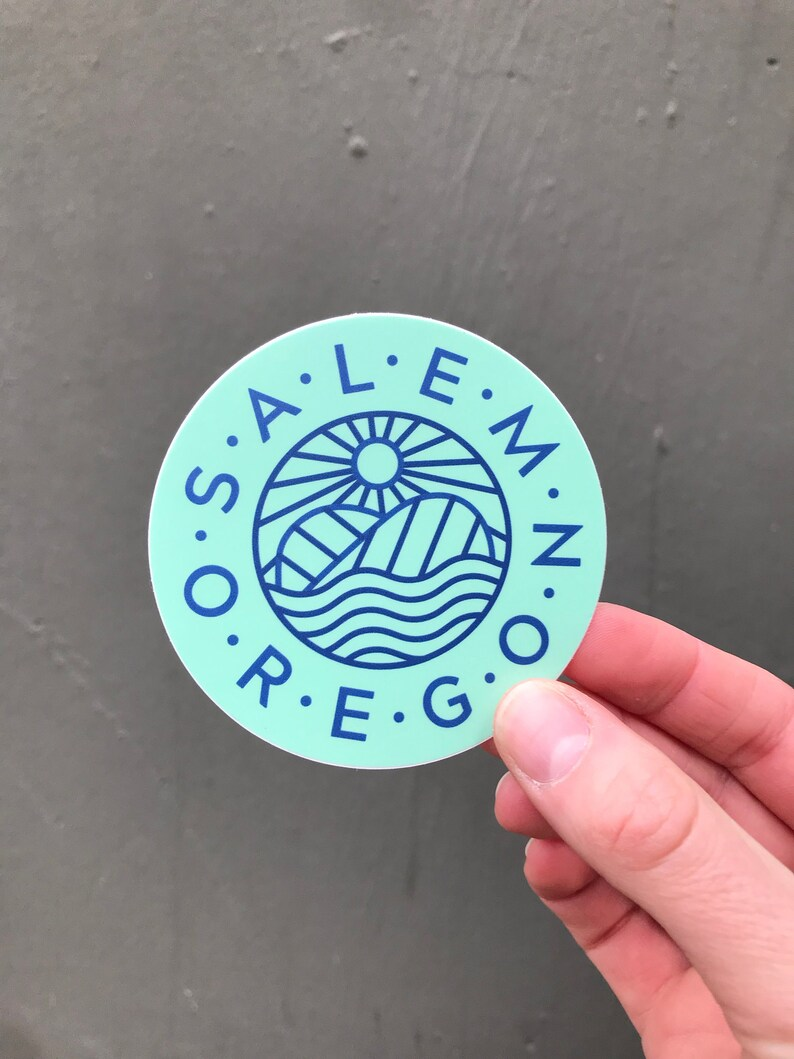 Salem Taco Bridge Sticker v2  3 image 0