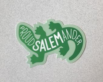 """Proud Salemander Sticker - 3"""""""