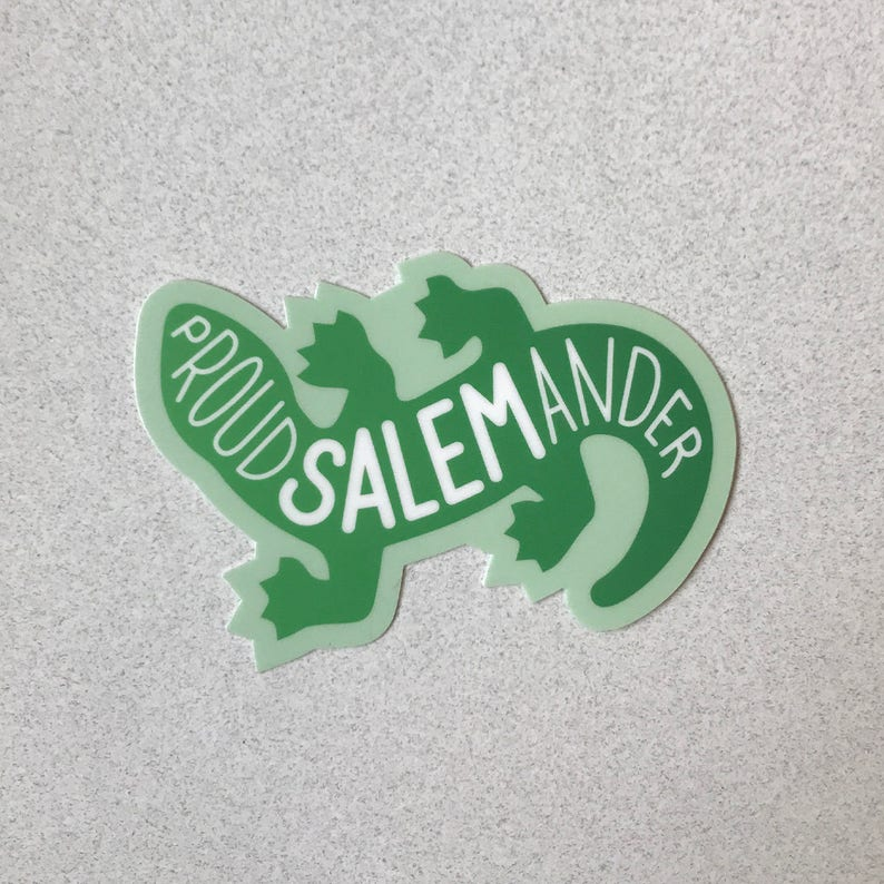 Proud Salemander Sticker  3 image 0