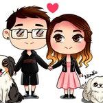 Custom Chibi - Custom Couple Portrait - Custom Portrait Illustration - Family Portrait - Customize chibi DIGITAL