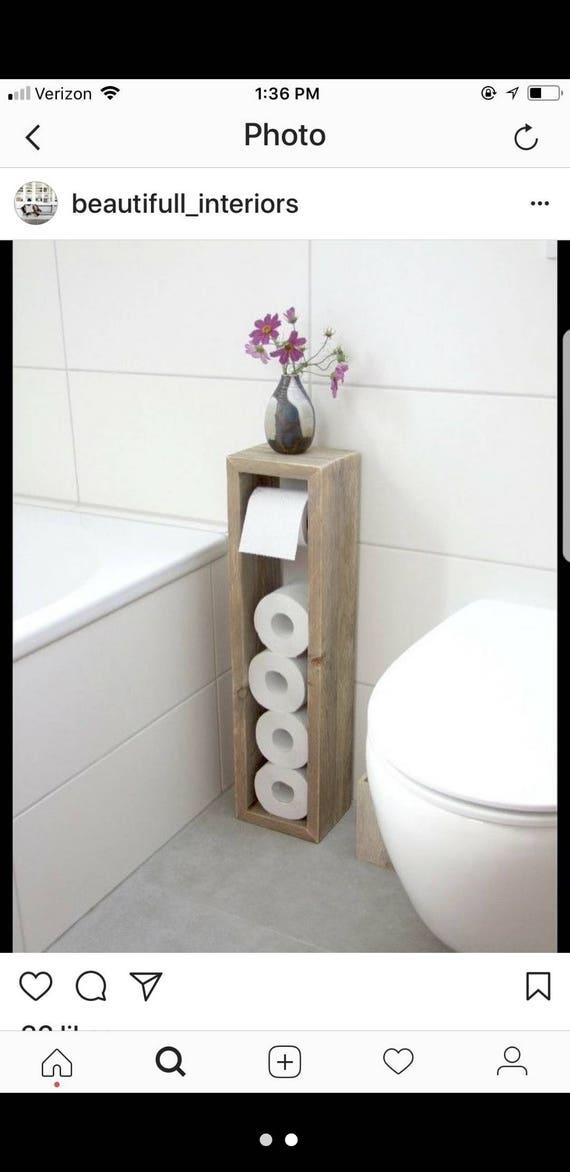 Custom Toilet Paper Holder | Etsy